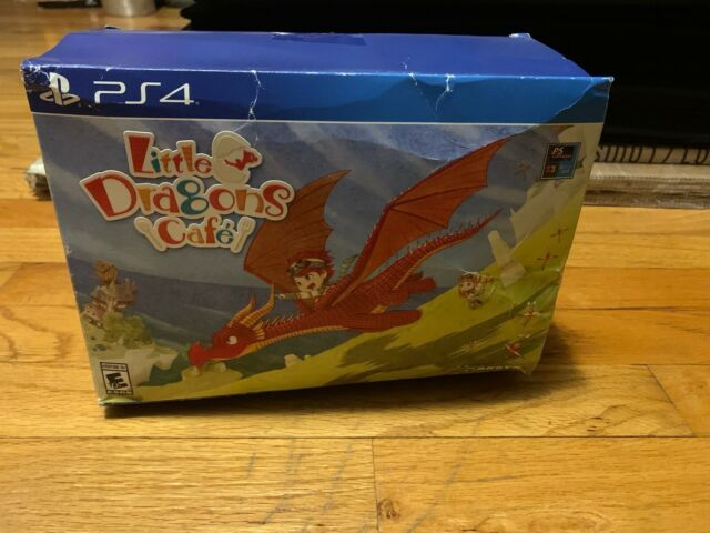Little Dragons Cafe Limited Edition PS4 (Sony PlayStation 4, 2018) Brand New