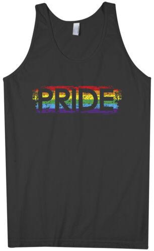 Threadrock Men/'s Pride Tank Top gay rainbow