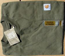 Carhartt Men's Workwear Pocket T-Shirt  Army Green Medium Regular