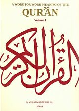 A Word for Word Meaning of the Quran (3 Vol JIMAS)