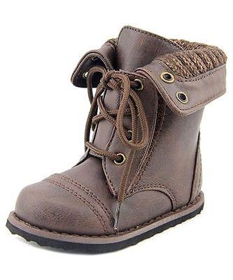 New Girls Toddler Sarah Jayne Willow Boot Style 99124313 Brown rt