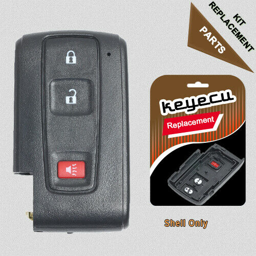 2 Btn Replacement Keyless Entry Smart Remote Key Fob for 2004-2008 Toyota Prius
