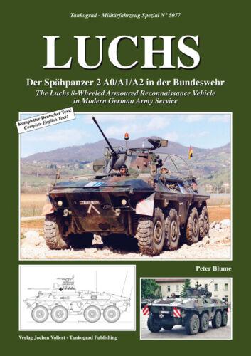 NEU /& AUF LAGER 5077 Aufklärungspanzer LUCHS Tankograd