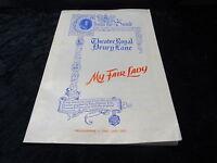 "C1960's Theatre Programme ""My Fair Lady"" Starring Rex Harrison & Julie Andrews"