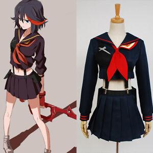KILL La KILL Ryuko Ryuuko Matoi Senketsu Cosplay Costume Dress ...