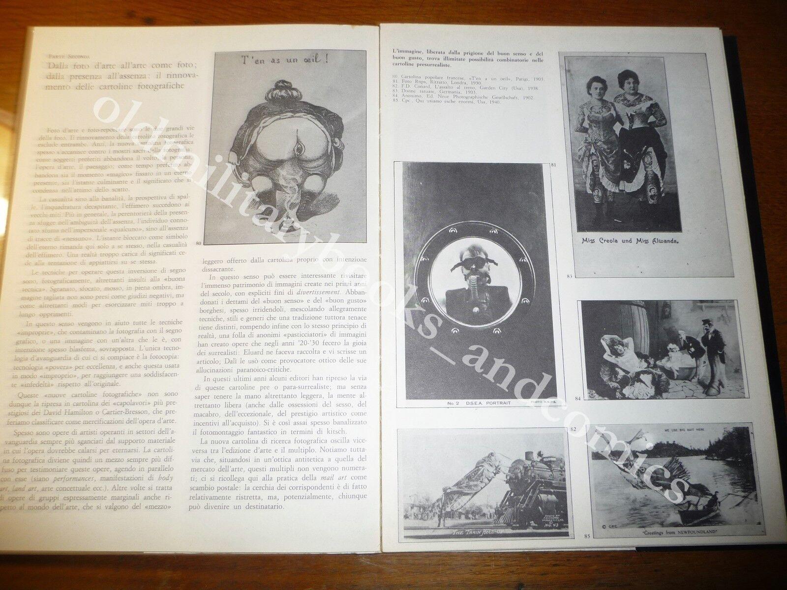 NUOVE CARTOLINE STURANI CATALOGO DELLA MOSTRA DI ROMA DEL 1981 AVANGUARDIA