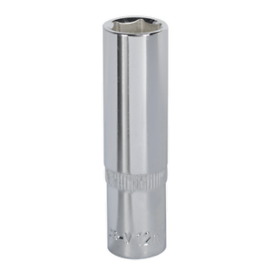 SP3812D Sealey WallDrive® Socket 12mm Deep 3/8Sq Drive Fully Polished