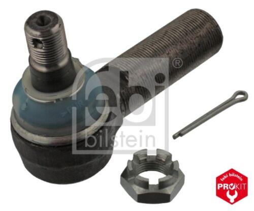FEBI BILSTEIN Spurstangenkopf Gelenkkopf ProKit 04384 für MERCEDES VOLVO Stahl