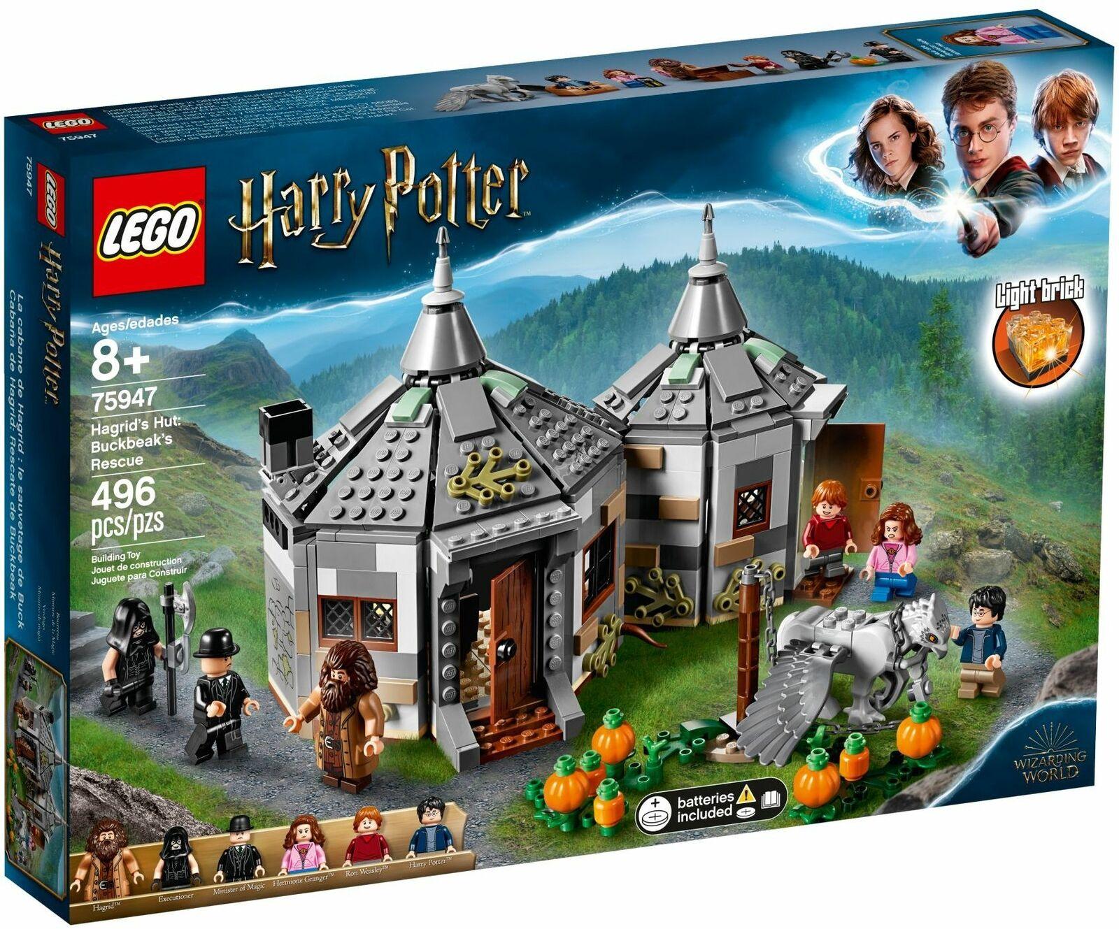 LEGO Harry Potter Hagrid's Hut  Buckbeak's Rescue 75947 FREE SHIPPING