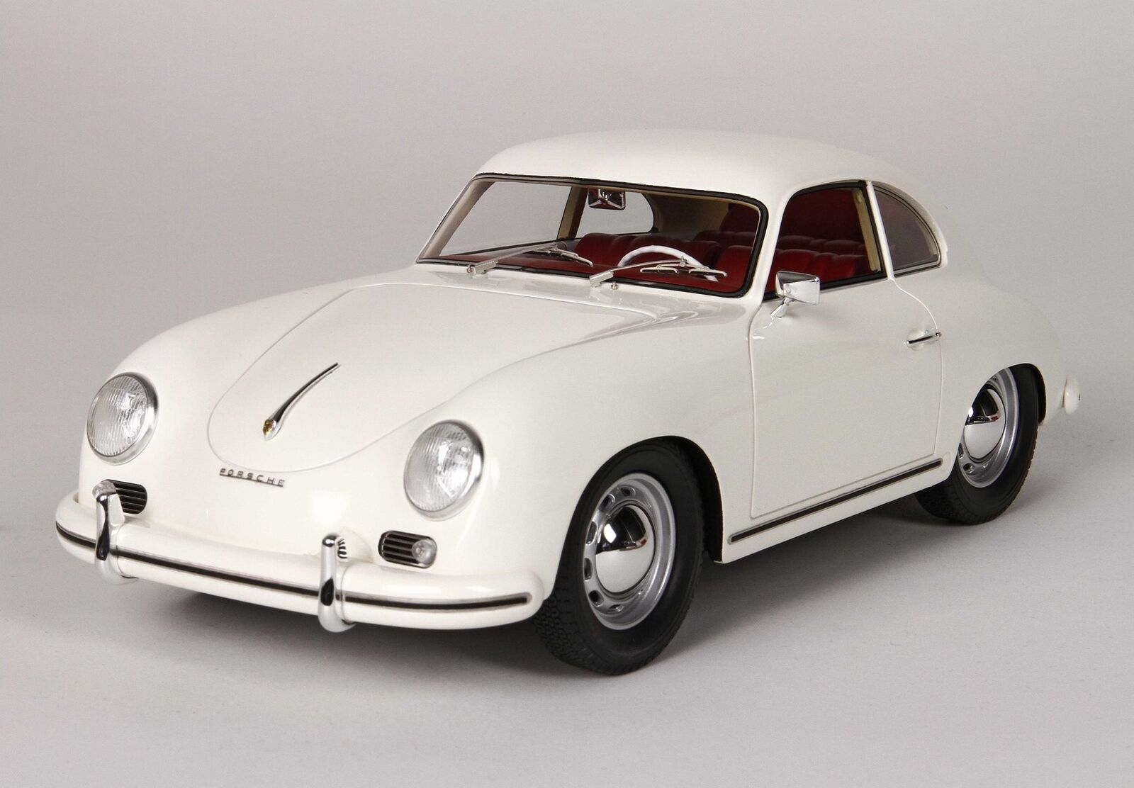 Porsche 356A Coupe 1955 White BBR 1 18 BBRC1820D Model