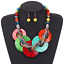 Fashion-Bohemia-Women-Jewelry-Pendant-Choker-Crystal-Chunky-Statement-Necklace thumbnail 41