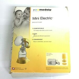 Medela Mini Electric Breast Pump Kit New Open Box Ebay