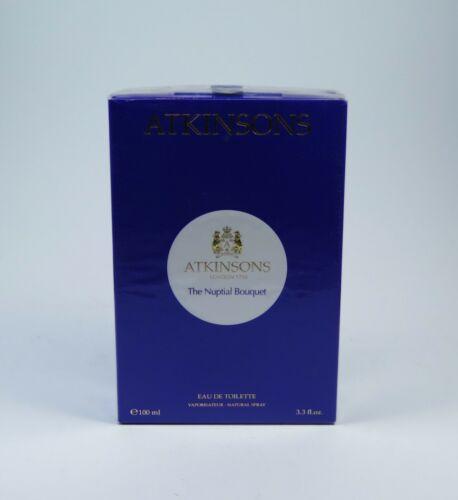 Atkinsons le Nuptial Bouquet 100ml EDT Eau de Toilette Spray Neuf / Emballage