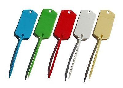 10 x voiture porte-clés self cravate à identifier vos véhicules marquage plantes moteur du commerce