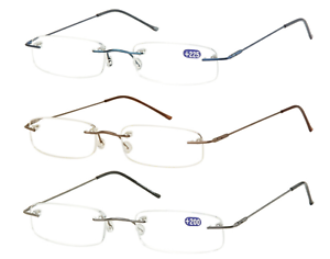 Glasses-without-Spectacles-Frame-from-Reading-in-Metal-Rimless-Sunoptic-OR17