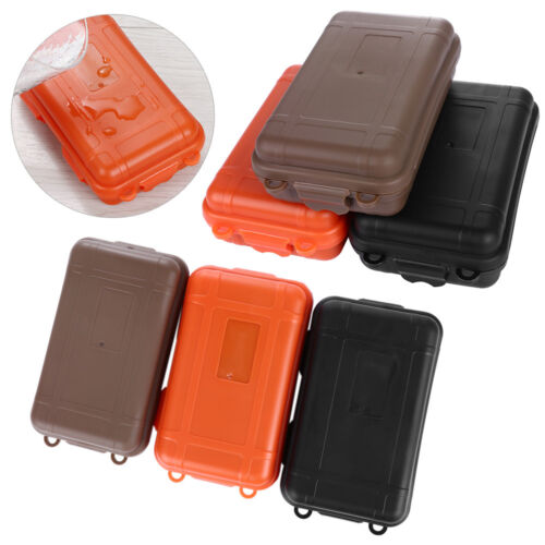 Hot EDC Outdoor Survival Case Waterproof Sealed Box Survival Travel Camping Tool