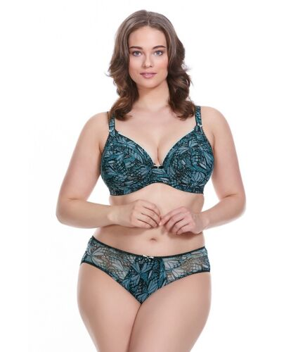 Elomi Women/'s Portia Silver EL4155 Brief NWT Available Sizes M-4L
