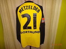 Borussia Dortmund gool.de Langarm Meister Trikot 2001/02 + Nr.21 Metzelder Gr.XL