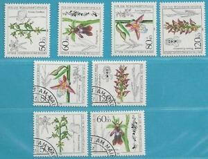 Berlin-aus-1984-postfrisch-MiNr-724-727-gestempelt-ETB-und-FDC-Orchideen