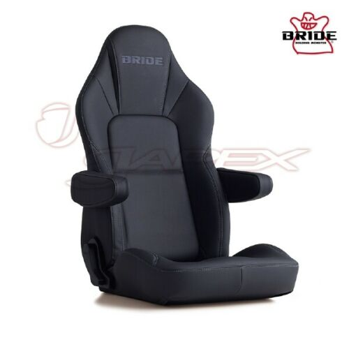 BRIDE Streams Cruz Tough Leather Black I32ARR