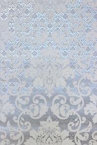 Vlies Tapete Barock Muster Ornament Silber Grau Weiss Metallic 13519