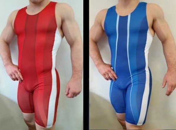 Wrestler Sport Ringertrikot Ringertrikot Ringertrikot  POWER  in blau (Gr. 152 -XXL) b6825f