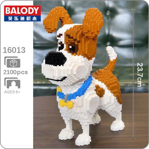 Balody Jack Russell Terrier Pet Dog Animal DIY Mini Diamond Blocks Building Toy