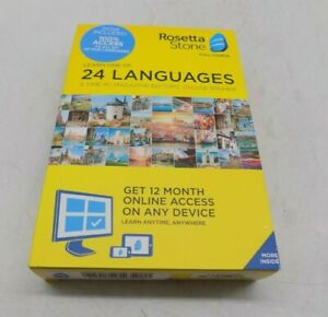 Rosetta Stone Learn Unlimited Languages 12 Months - Learn ...