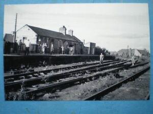 PHOTO-LNER-AMBLE-RAILWAY-STATION-IN-1964