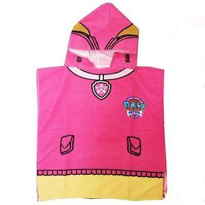 Paw Patrol Skye Handtuch Umhang Mit Kapuze Pink Strandtuch Kinder