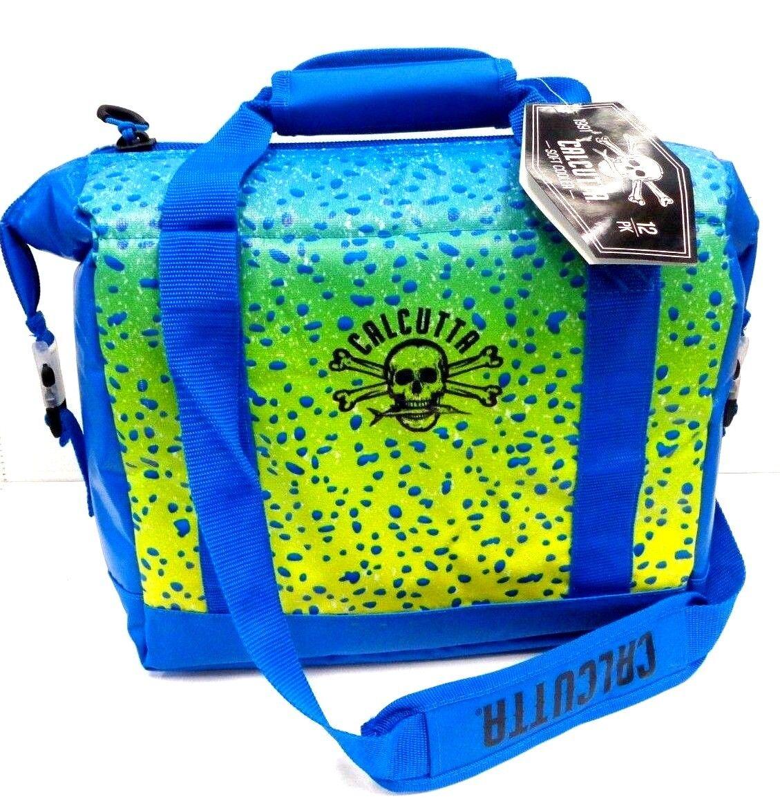 Calcutta Soft Sided Cooler Bag MAHI  Print CSSCM-12 - 12-CAN - Leak-Proof - NEW  convenient