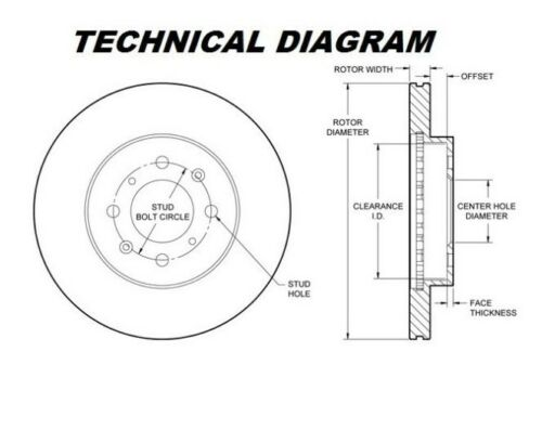 OEM SPEC FRONT DISCS AND PADS 257mm FOR FIAT DOBLO 1.9 D 2001-02