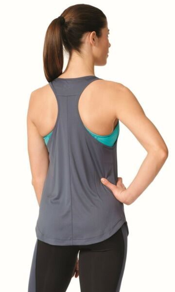 adidas Performance Damen Sport Fitness Tankshirt Too Fit blau