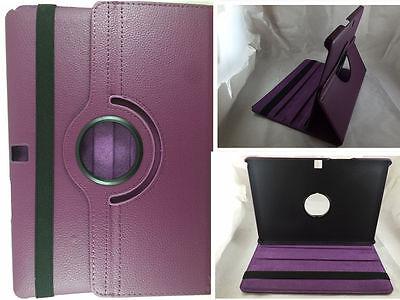 "Morado Tablet & Ebook Reader Accs Fashion Style Funda Giratoria 360º Tablet Bq Aquaris M10 10.1"" Cases, Covers, Keyboard Folios"