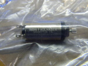 NEW Faulhaber 3V DC 8mm Micro Motor MiniMotor Model 0816P003S Swiss Made