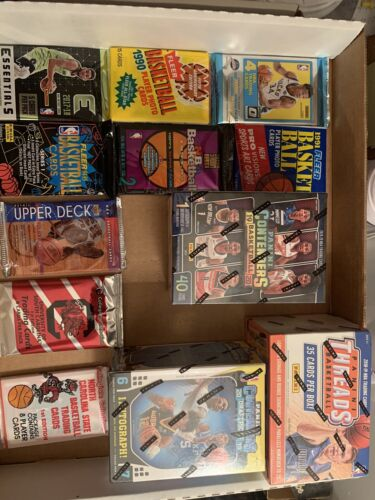 LOT OF UNOPENED Basketball PACKS UNOPENED BASKETBALL CARDS Sealed NBA  Read!!!