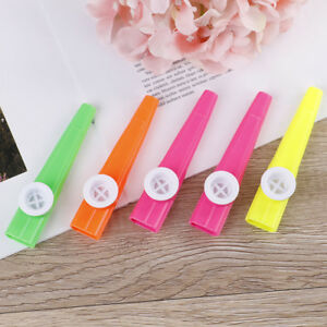 5Pcs-Plastic-kazoo-harmonica-mouth-flute-children-party-gift-musical-instrument