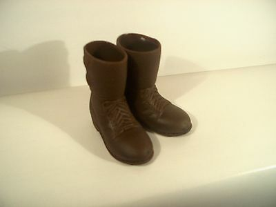 """WWII US Army toy boots GI Joe SOTW World Peacekeepers 21st Century  1//6 12/"""""""