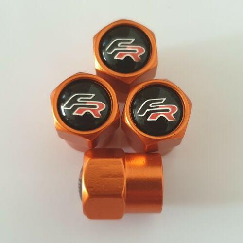 Tapones de polvo Válvula De Metal FR asiento todos los modelos de otros colores Mii LEON St Cupra Arona