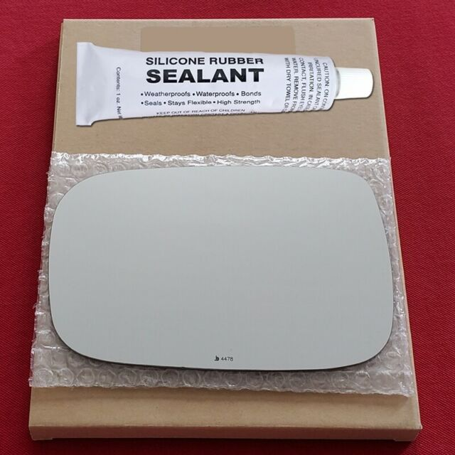 Mirror Glass Replacement + Silicone Adhesive For 13-18