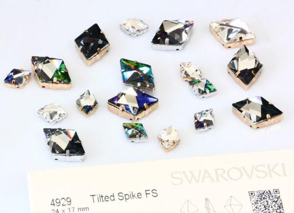 NUOVO orig SWAROVSKI Fancy pietre impostazioni si adatta a 4499 Caleidoscopio Square
