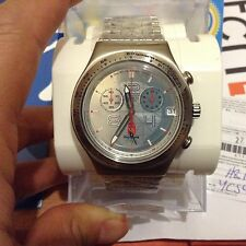 SWATCH IRONY Chrono Beijing Full Metal. Garantie 2 ans. MEGA COLLECTOR ! NEW !