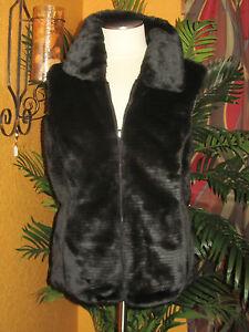 Liz Claiborne Nwt113 Petite winter zwarte omkeerbare Xl damesvest Pxl BexorCd