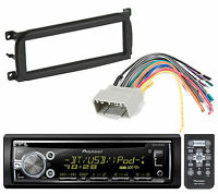 Pioneer Deh-x6900bt Bluetooth Cd Player Car Radio Install Mount Kit Radio Harnes