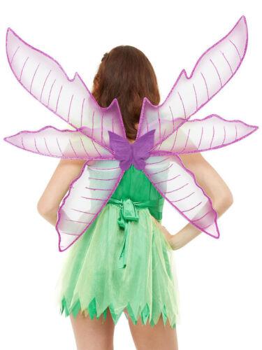 Ladies Pretty Pixie Fairy Wings Accessory Fancy Dress Tinker Bell