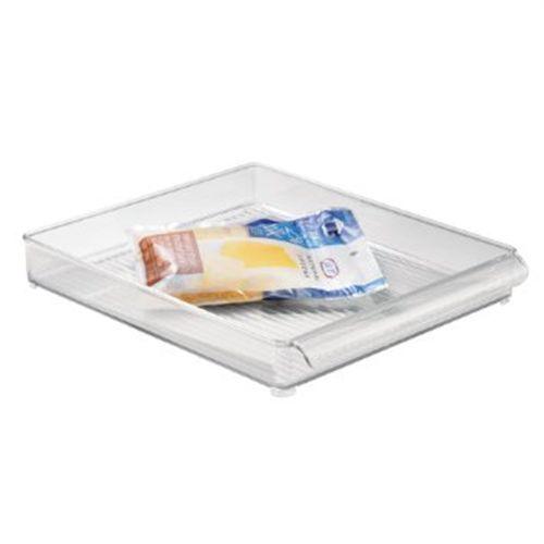 """InterDesign Refrigerator and Freezer Storage Organizer Tray for Kitchen 12/"""" x 2"""