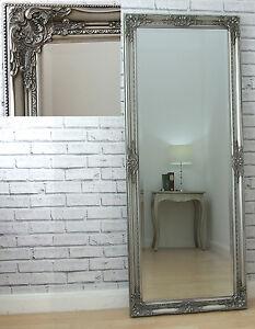 Image Is Loading Kingsbury Full Length Ornate Large Vintage Leaner Wall