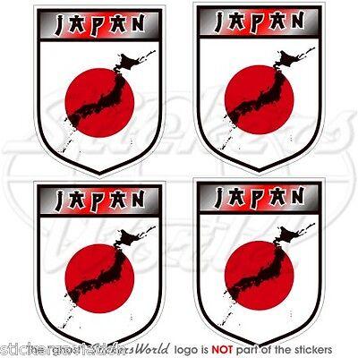 JAPAN Schild JAPANISCHE Nippon Vinyl Sticker Aufkleber 50mm x4