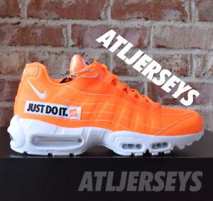 c49a56960c Nike Air Max 95 SE JUST DO IT JDI Total Orange Force 1 AV6246-800 | eBay