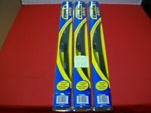 """BRAND NEW LOT OF 3 RAIN-X ARCH 17"""" REPLACEMENT WINDSHIELD WIPER BLADES #810092"""